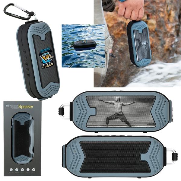 BaseCamp® Rapids Waterproof Wireless Speaker