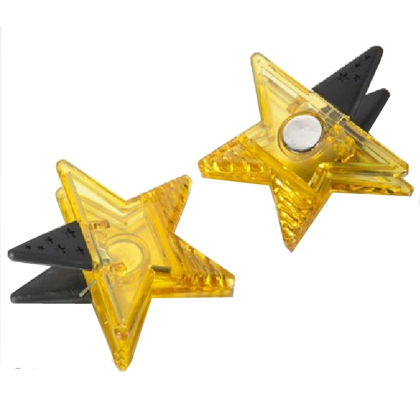 Star-Shaped Magnetic Clip