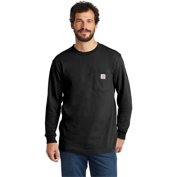 Carhartt Workwear Pocket Long Sleeve T-Shirt.