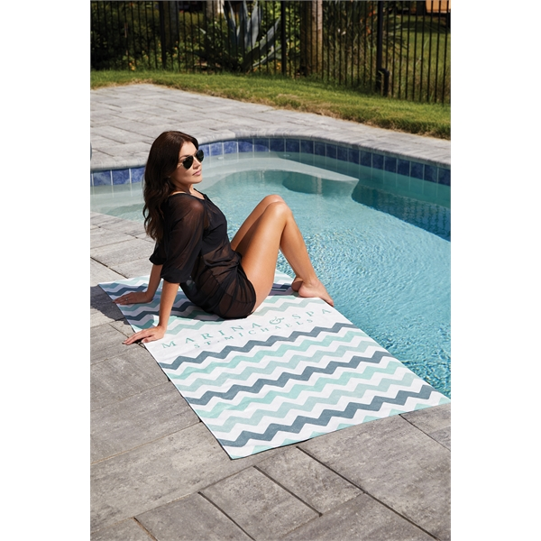 Chevron Collection Beach Towels