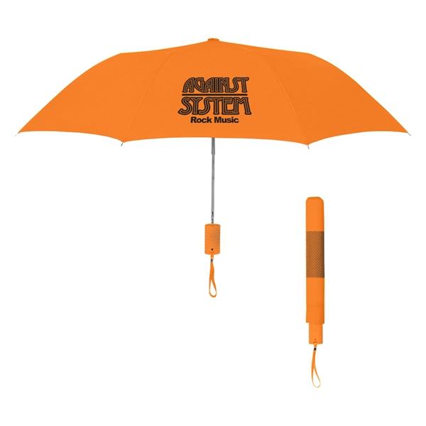 "42"" Arc Neon Telescopic Folding Umbrella"