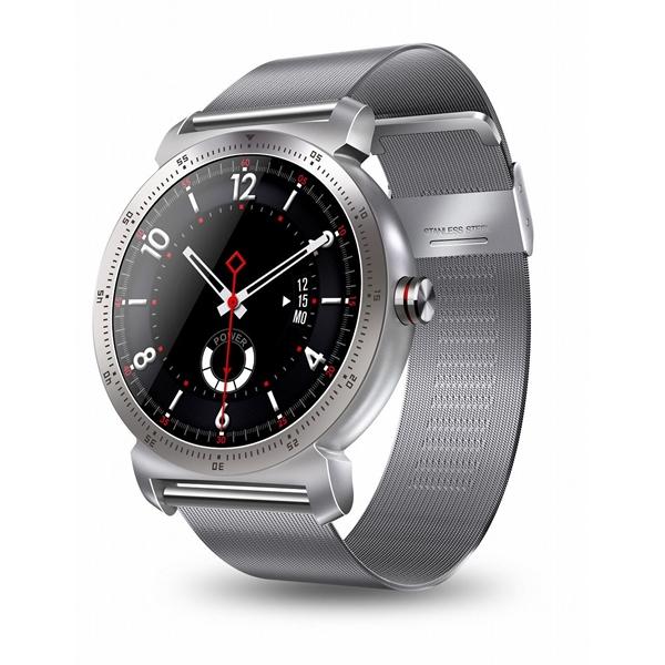 The Chairman Sport Smartwatch Silver Metal