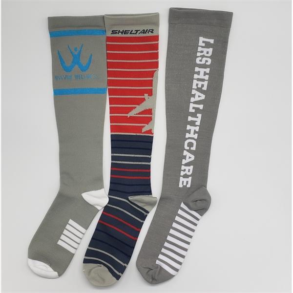 Premium Custom Moderate Compression Socks FREE SHIPPING!