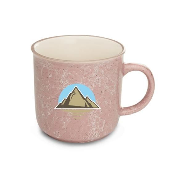 13 oz. Marble Campfire Coffee Mugs