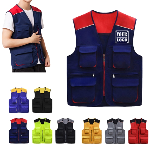 Two Tone Work Vest