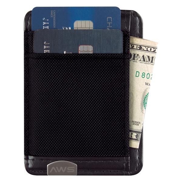 Executive RFID Money Clip Card Holder