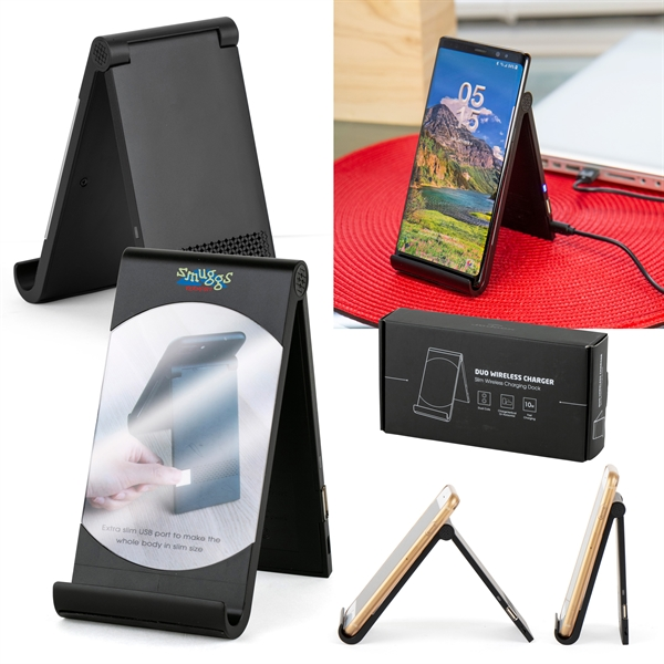 Xoopar® Duo Wireless Charging Station
