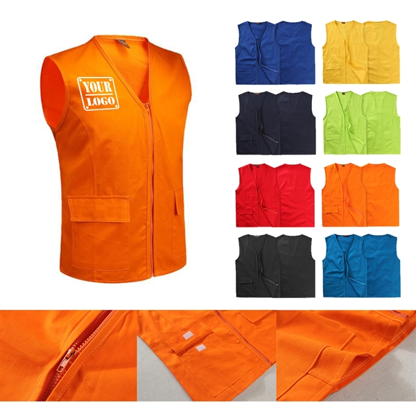 V-neck Work Vest