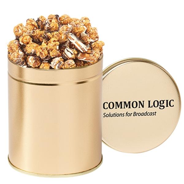 Quart Popcorn Tin / Chocolate Pretzel