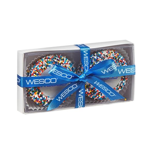 Elegant Belgian Chocolate Custom Oreo® 2 Way Gift Box