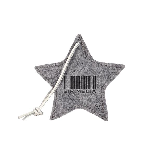 MAGNOLIA Felt Star Ornament