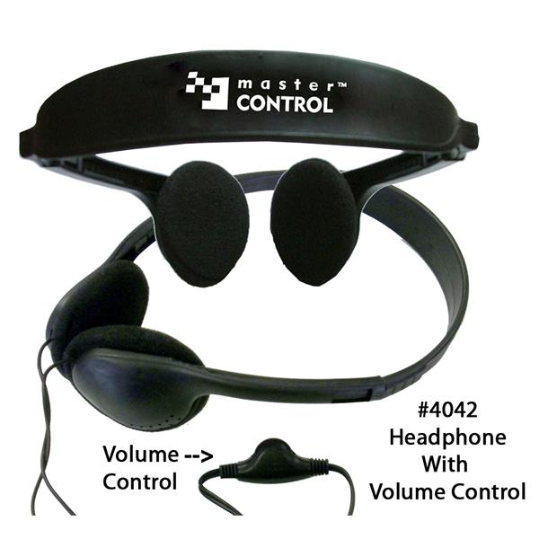 Deluxe Stereo Audio Headphone with Volume Control