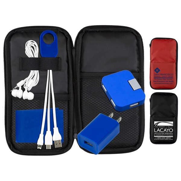 TravPouch Deluxe Cell Phone Charging & A