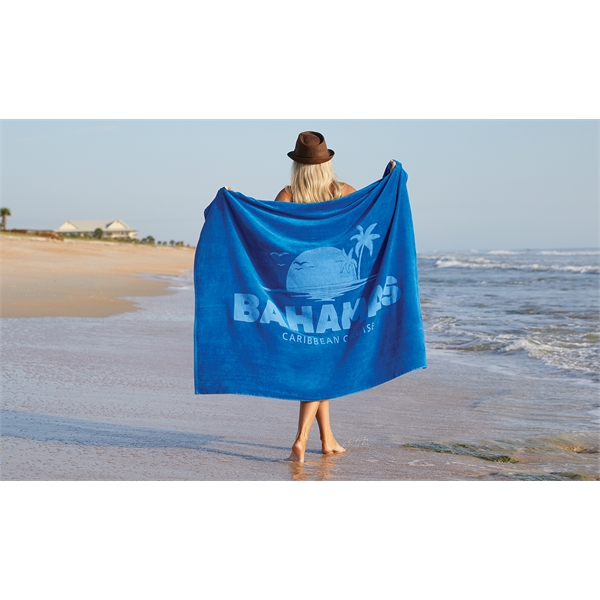 Oversized Colored Beach Towel