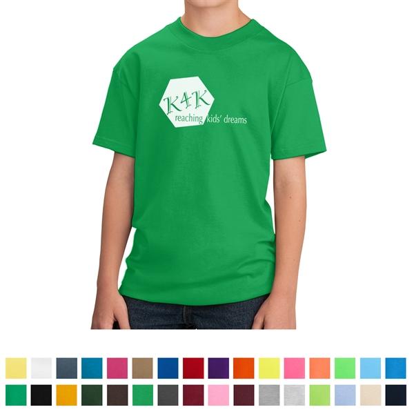 Port & Company® - Youth Cotton T-Shirt