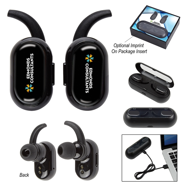 Sonic Capsule Stereo Wireless Earbuds