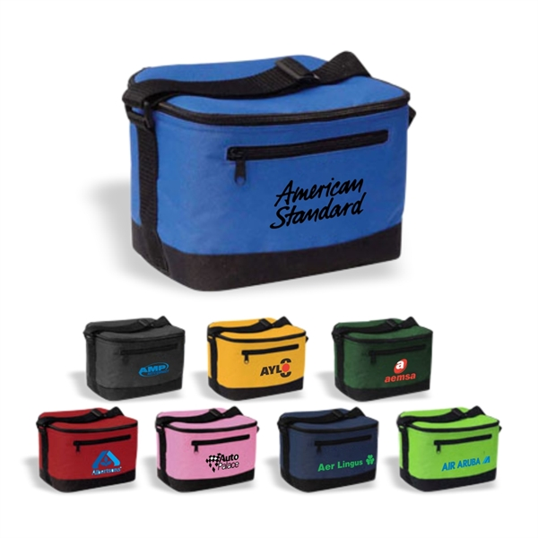 Enlarged 6-Can Poly Cooler, Cooler Bag, Insulated Cooler