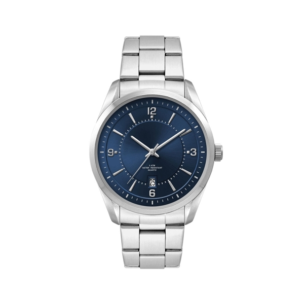 Men's Blue Dial 42mm Metal Case Men's Blue Dial 42mm Meta...