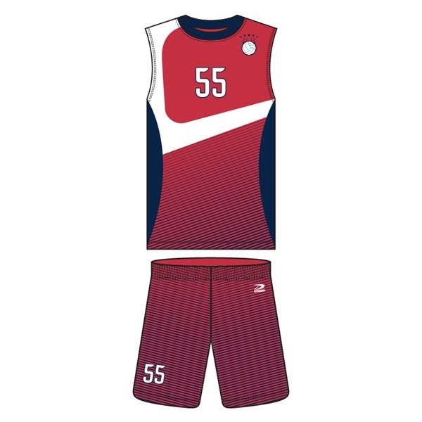 Men's Short Sleeve Volleyball Raglan