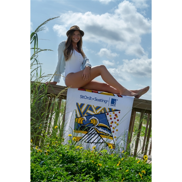 Diamond Collection Beach Towel