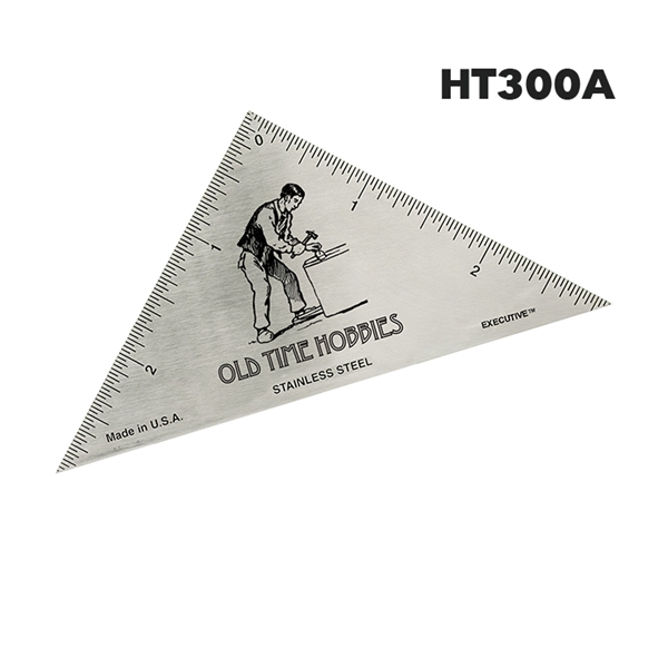 Hobby Triangle Ruler - English