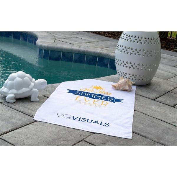 Small Beach Towel - White