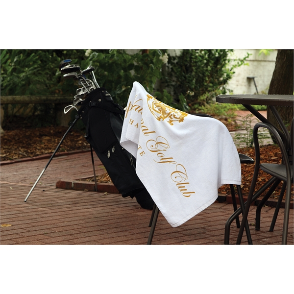 Caddy Towel - White