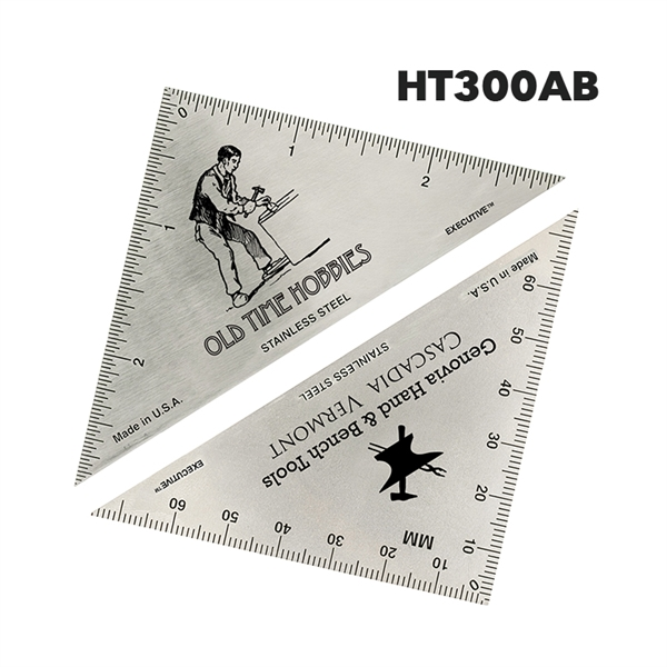 Hobby Triangle Ruler - English & Metric
