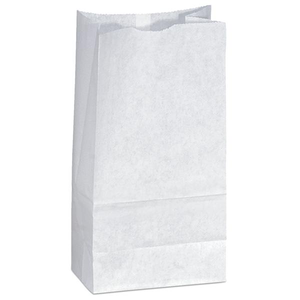 Popcorn Bag-White