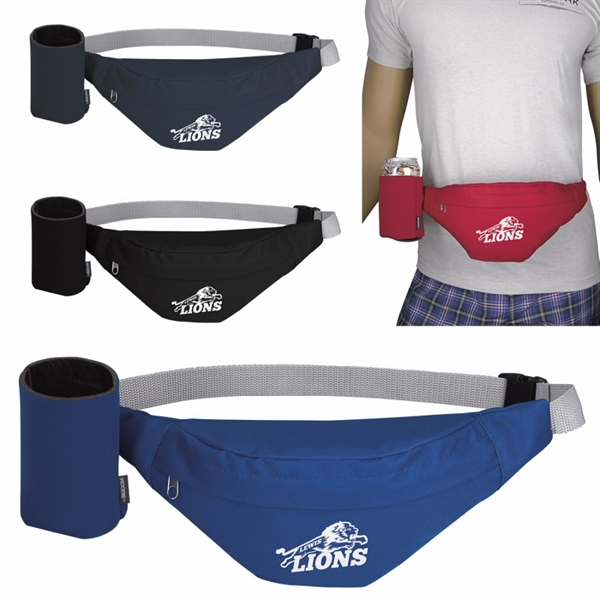 Party Fanny Pack with Can Kooler