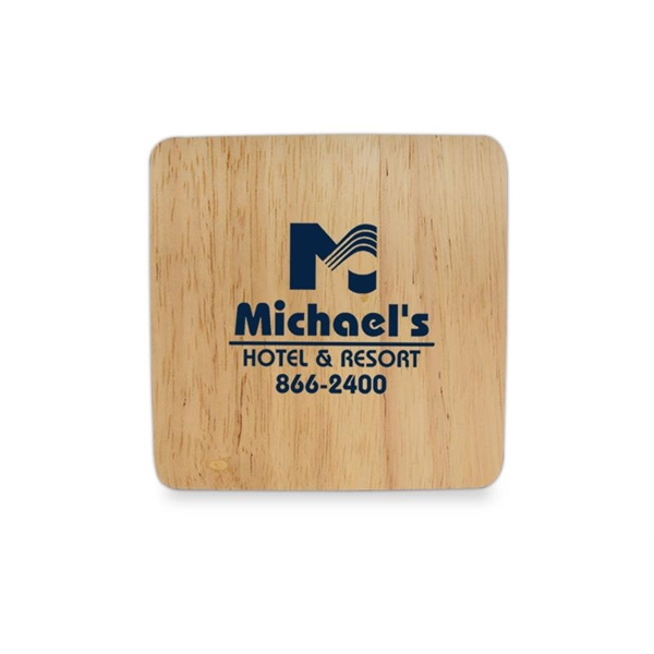 Table Saver Bamboo Coaster - Save your furniture by using our durable bamboo coaster.