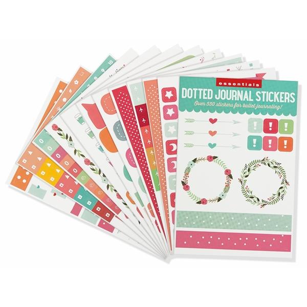 Essentials Dotted Journal Planner Stickers