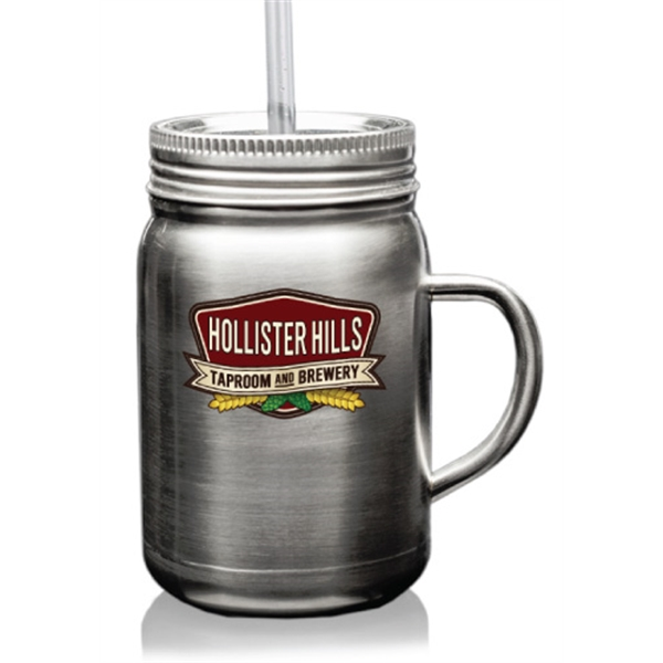 22 oz. Mason Jars with Handle