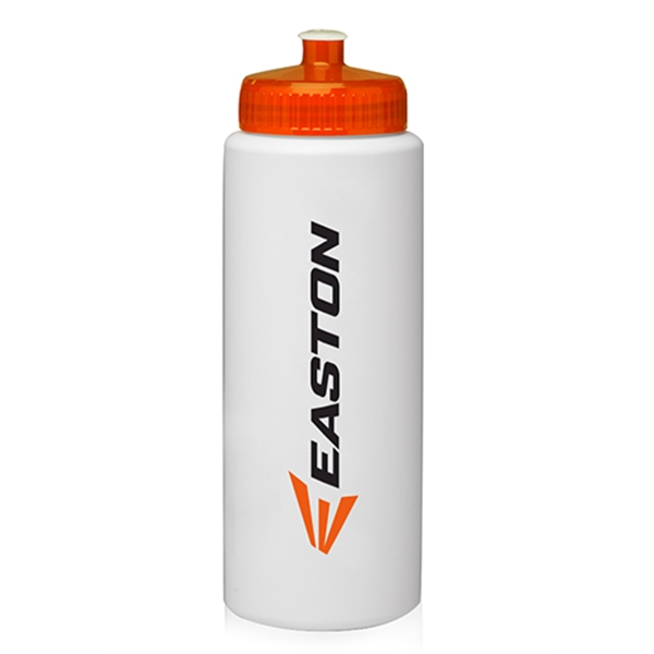 32 oz. HDPE Plastic Sports Water Bottles
