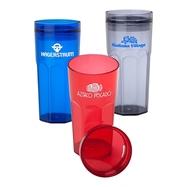 16 oz. Octagonal AS Tumbler