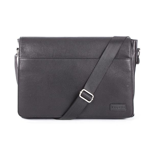Horizon Collection Pebble Grain Leather Messenger Bag