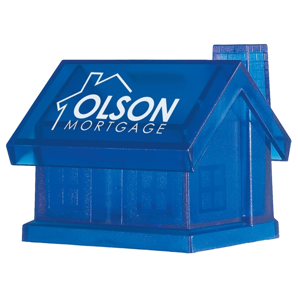 Plastic House Shape Bank