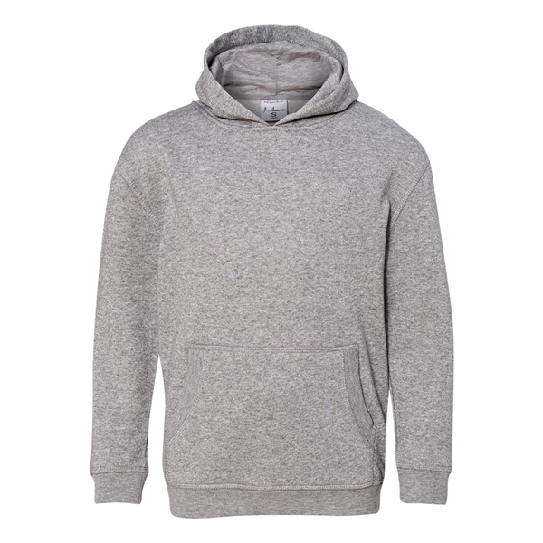 J America Youth Glitter French Terry Pullover Hood