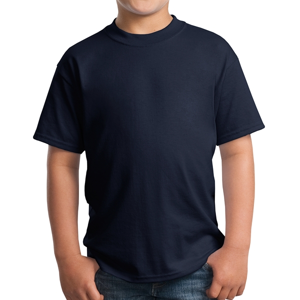 Port & Company (R) - Youth Cotton/Poly T-Shirt