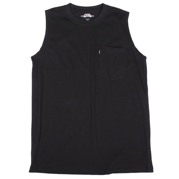 Blended Sleeveless T-Shirt