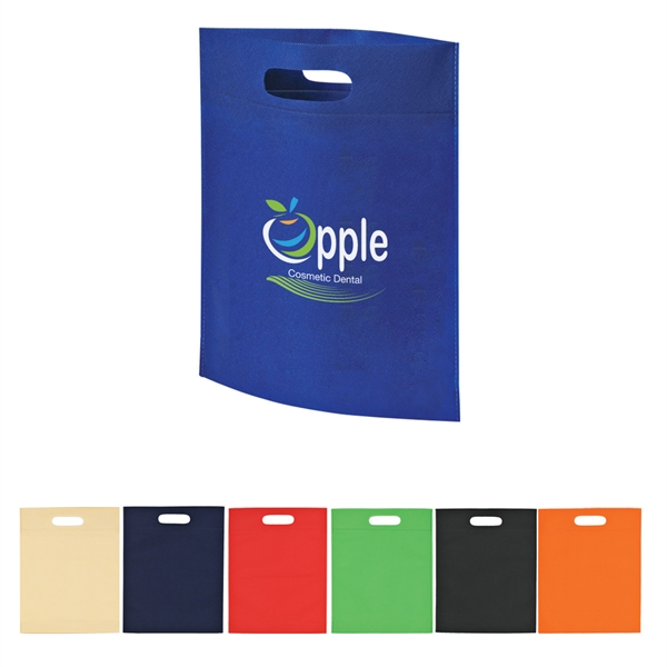 Heat Sealed Non -Woven Exhibition Tote Bag
