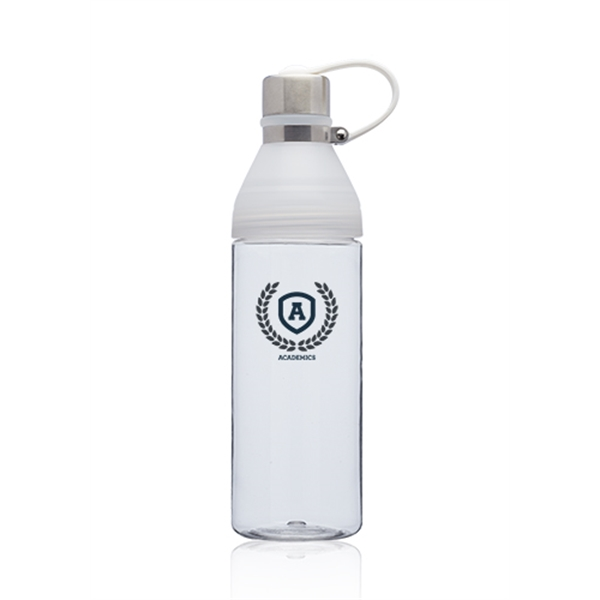 27 oz. Aura Soft Handle Plastic Water Bottles