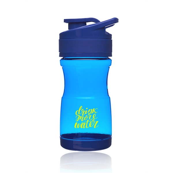 20 oz. Pawn Plastic Water Bottles with Flip Lid