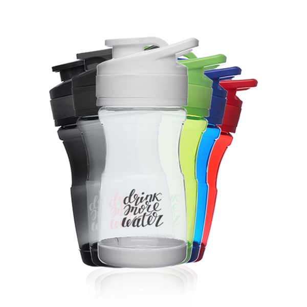 20 oz. Pawn Plastic Water Bottles with F