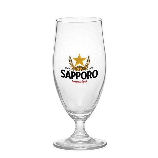 13 oz. Short Stem Tulip Goblet Beer Glasses