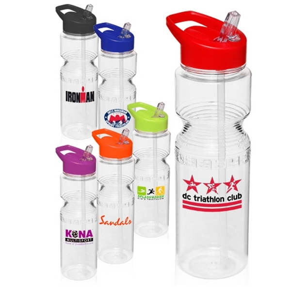 28 oz. Sports Bottles With Straw