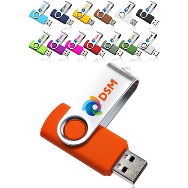 8GB Swivel USB Flash Drives