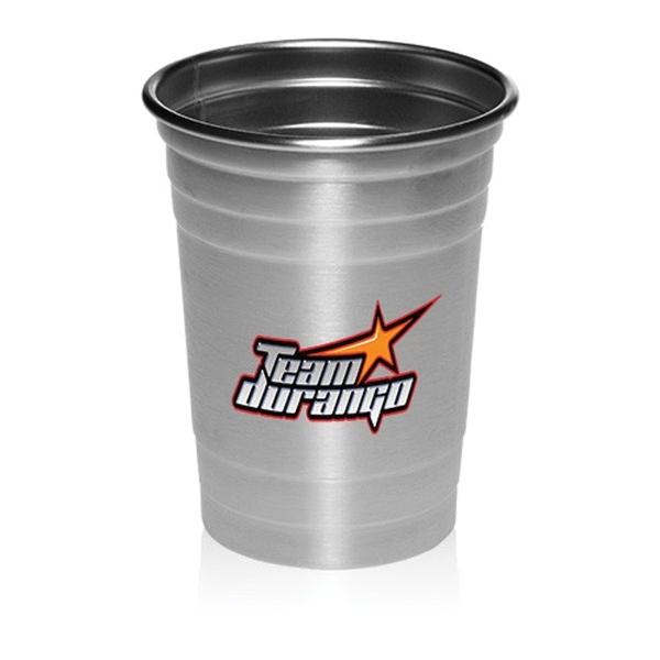 16 oz. Stainless Steel beer cups