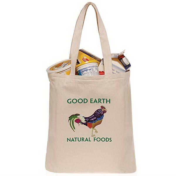 10oz Canvas Grocery Bags with 22
