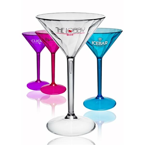 7 oz. Diamond Cut Martini Glasses
